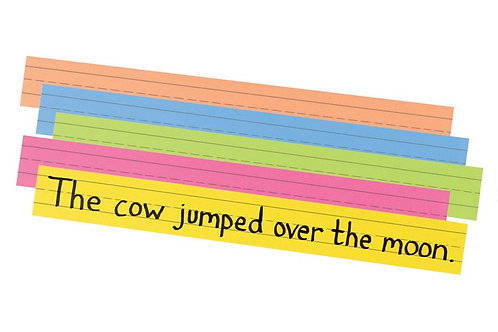 Sentence Strips - Colored