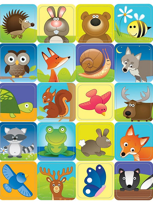 Woodland Creatures Stickers