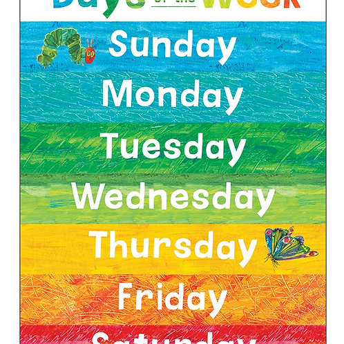 World of Eric Carle™ Days of the Week Chart
