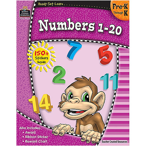 Ready-Set-Learn: Numbers 1-20