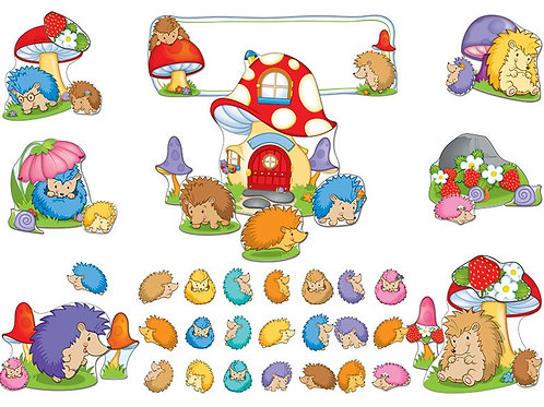 Happy Hedgehogs Bulletin Board Set