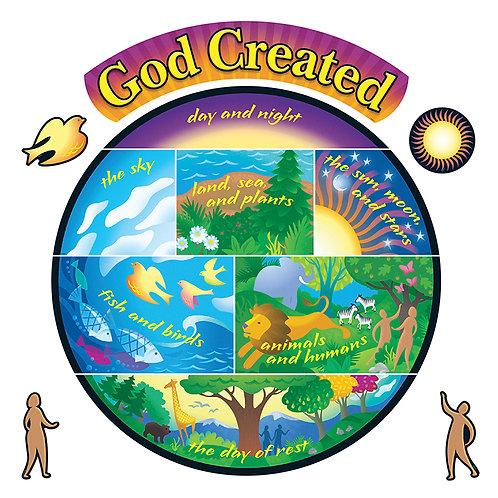 Creation Bulletin Board Set