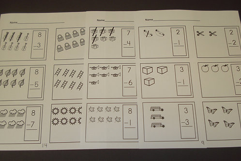 Subtraction Made Easy Worksheets