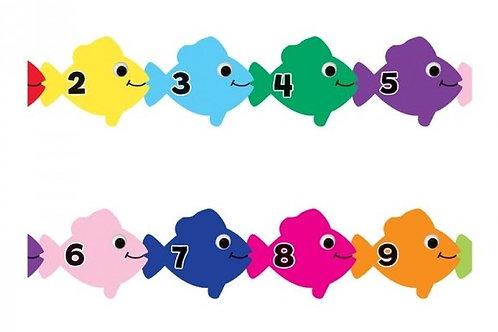 Counting Fish Border