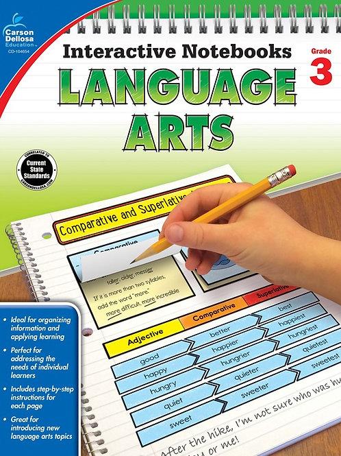 Interactive Notebooks: Language Arts Gr 3