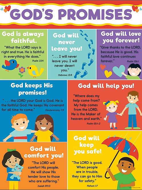 God's Promises Chart