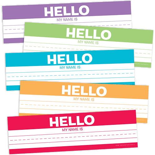 Hello Desk Name Plates