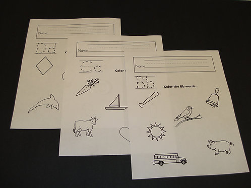 Sounds Made Easy Worksheets