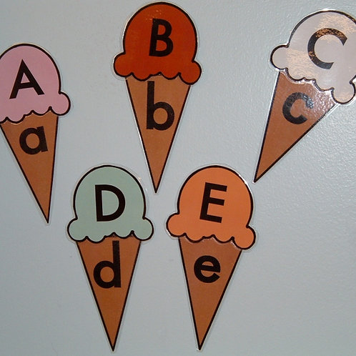 ICE CREAM ALPHABET GAME