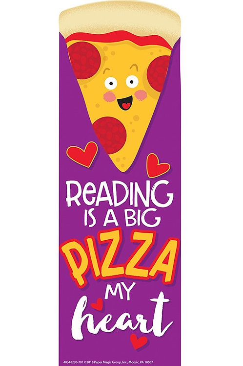 Pizza Scented Bookmarks