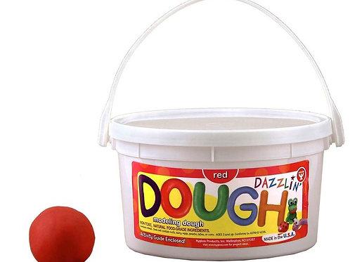 Dazzlin' Dough - 1 lb. Red, Scented