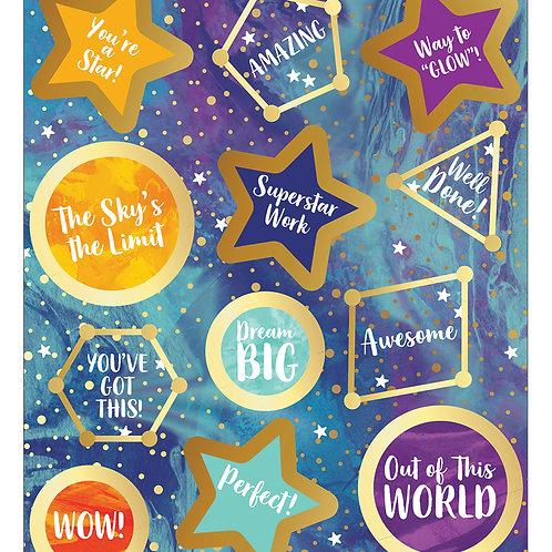 Galaxy Motivators Motivational Stickers