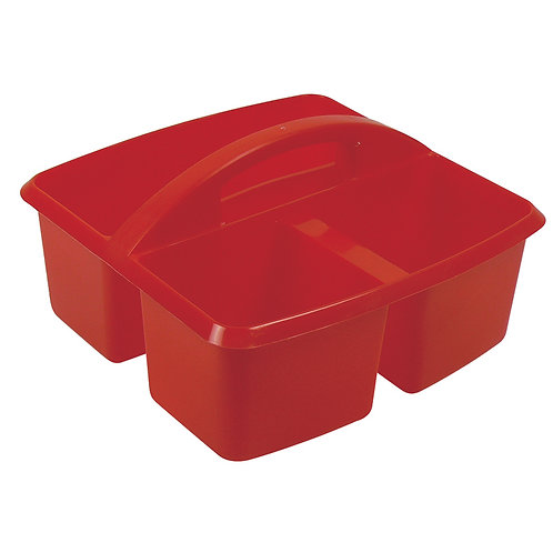 STORAGE CADDY-RED SMALL