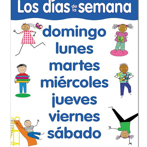 DAYS OF THE WEEK SPANISH