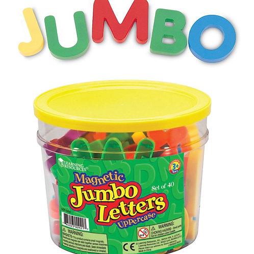 Jumbo Magnetic Letters - Upper Case