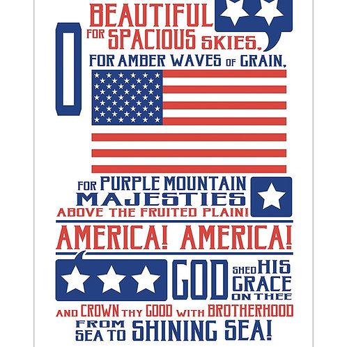 "America, America Poster 13""x19"""