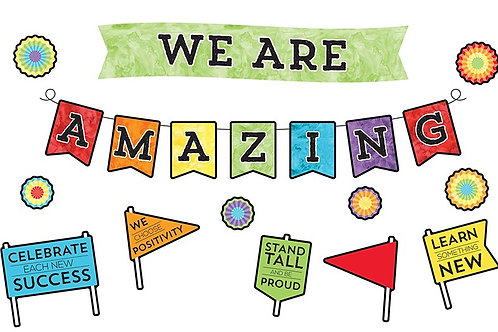 We Are Amazing Bulletin Board Set