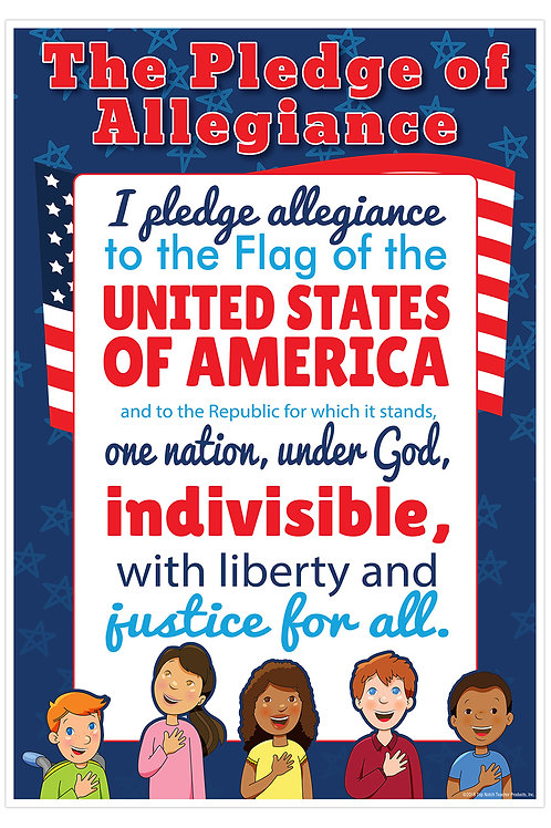 Pledge of Allegiance Smart Chart