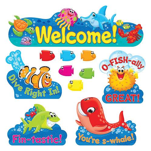 Welcome Sea Buddies Bulletin Board