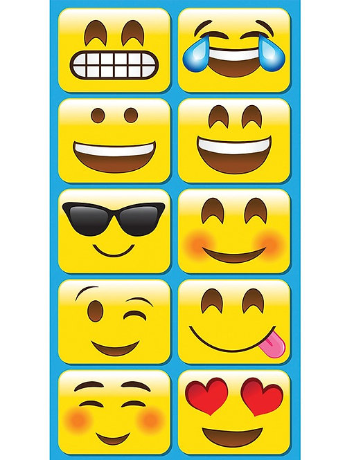 Emojis Mini Whiteboard Erasers 10 pack