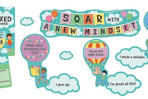 Soar with a New Mindset Mini Bulletin Board Set