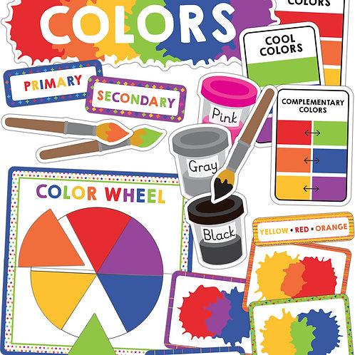 Colors Mini Bulletin Board Set