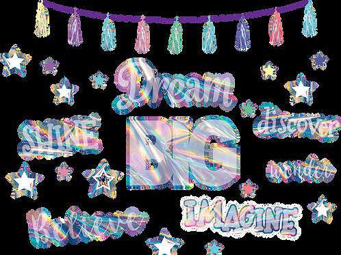 Iridescent Dream Big Bulletin Board