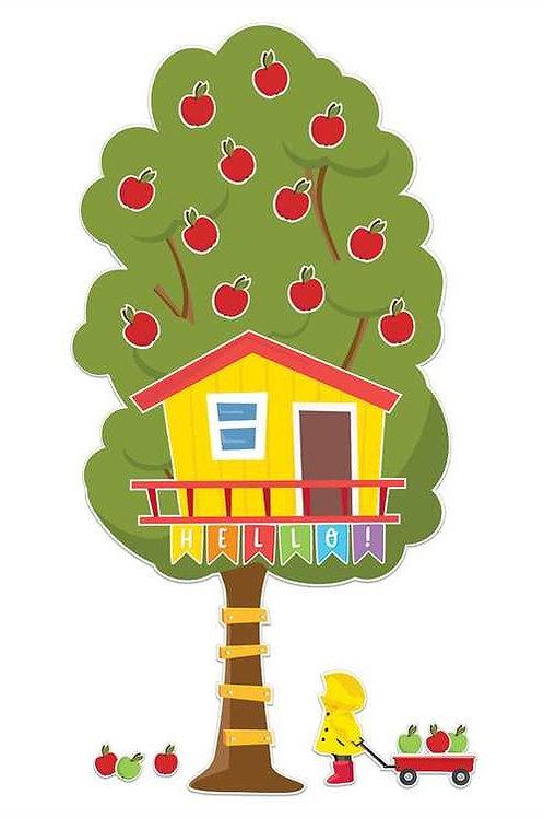 A Teachable Town Large Seasonal Tree House