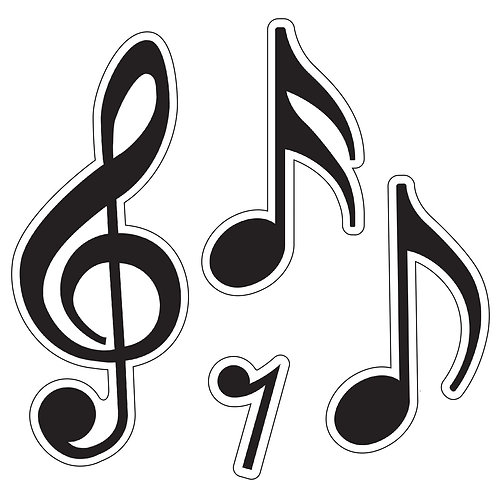 Music Symbols Classic Accents® Variety Pack