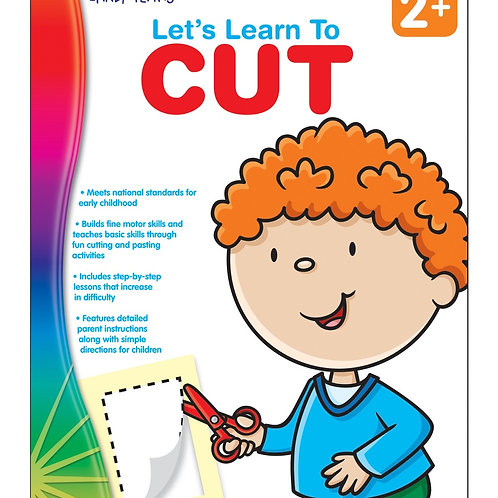 Let's Learn to Cut Workbook