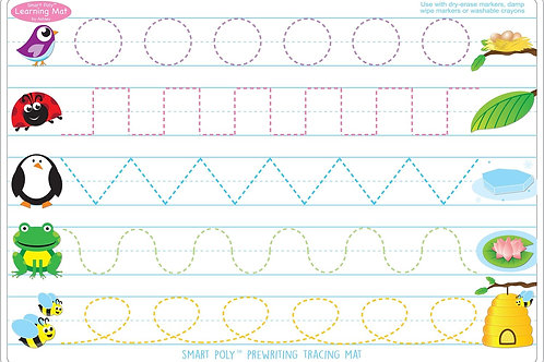 Prewriting/ Shapes Smart Poly™ Learning Mat