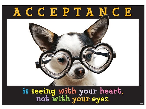 ACCEPTANCE IS SEEING