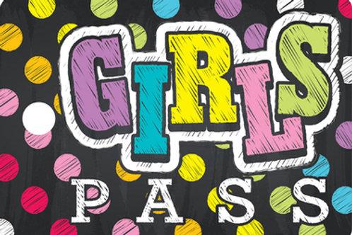 Neon Chalk Girl's Pass