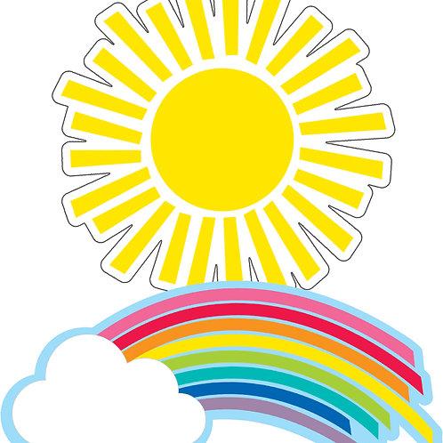 Rainbows & Suns Cut-Outs