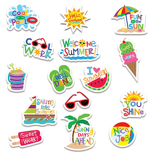 Summer Fun Reward Stickers