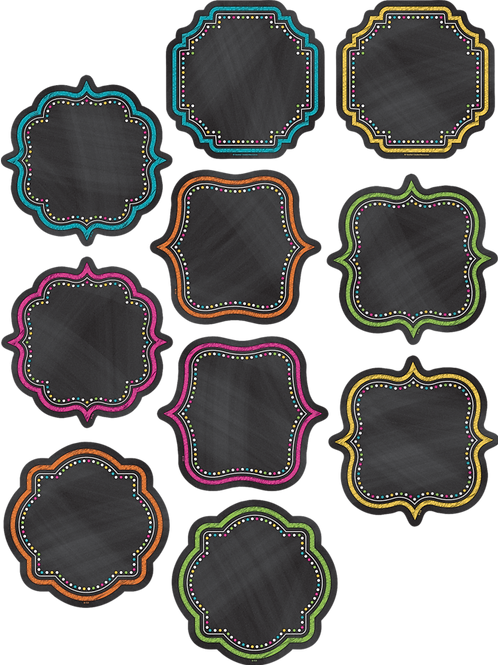 Chalkboard Brights Accents