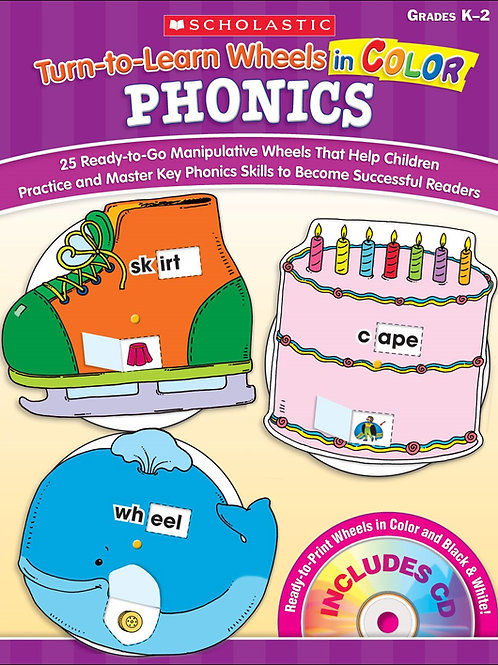 Turn-to-Learn Wheels-Phonics