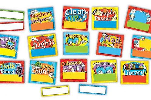 Dr. Seuss™ Job Chart Mini Bulletin Board Set