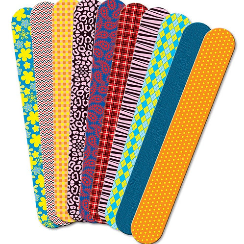 Fabric Prints Craft Sticks