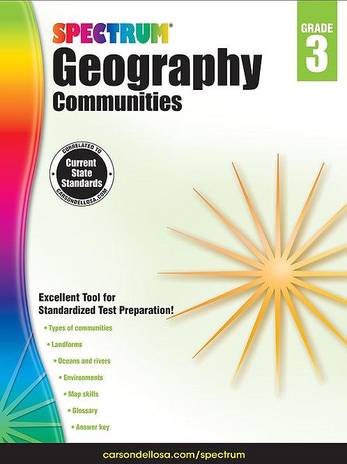Spectrum Geography Workbook