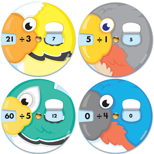 EZ-Spin: Division Facts Manipulative