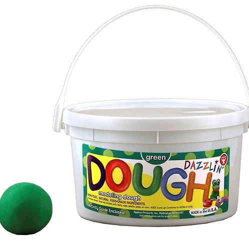 Dazzlin' Dough - 1 lb. Green, Scented