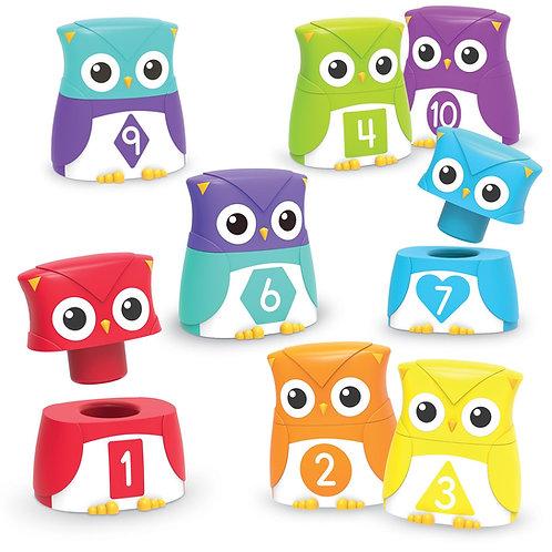 Snap-n-Learn™ Owls