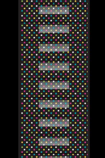 Chalkboard Brights 10 Pocket File Storage Pocket Chart