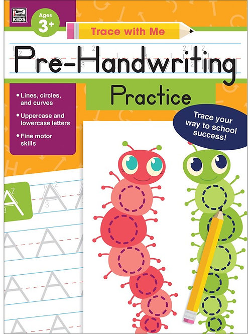 Pre-Handwriting Practice Activity Book