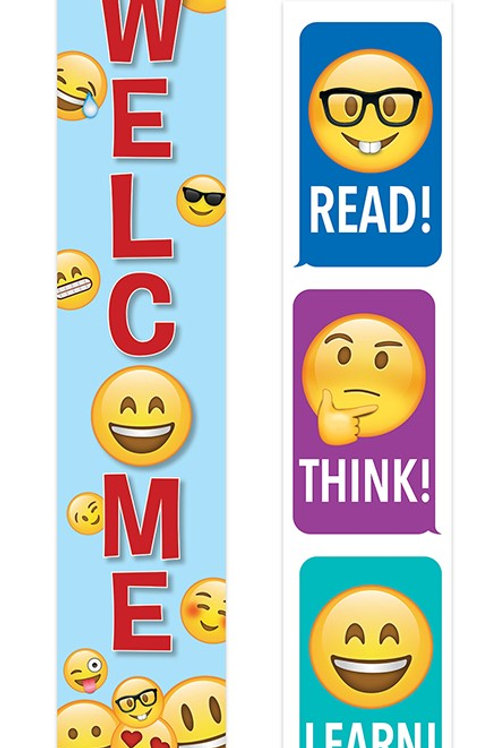 Emoji Fun Welcome Banner