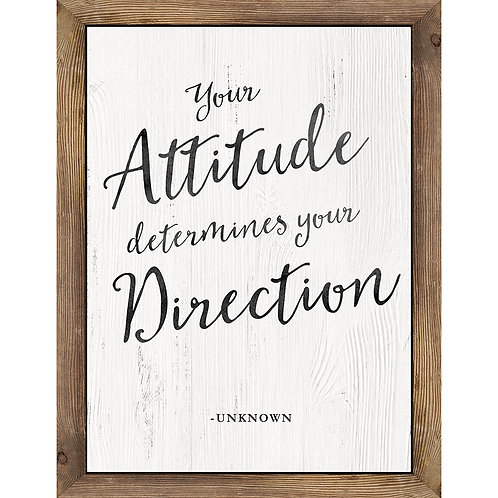 Industrial Chic Your Attitude Determines Chart