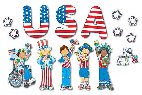 US Patriotic Kids BB Set