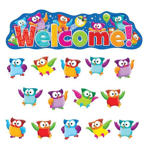 Welcome Owl Stars Bulletin Board