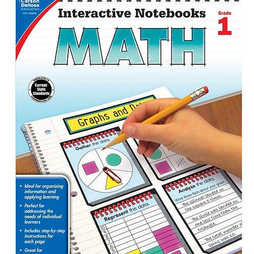 Interactive Notebooks: Math Gr 1